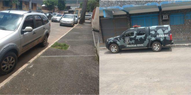 MP cumpre mandados de busca e apreensão na sede da prefeitura de Niquelândia
