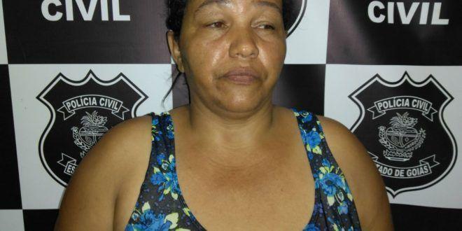 Polícia Civil de Uruaçu prende em flagrante mulher que receptou produtos furtados pelo sobrinho