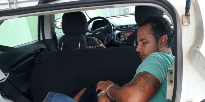 Polícia Militar prende foragido da justiça em Uruaçu