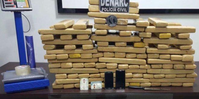 Denarc de Goiás e Pará prendem quatro traficantes e apreendem 116 kg de maconha nos dois estados