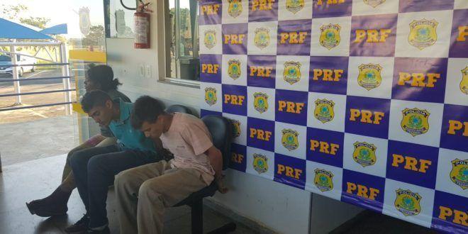 ASSALTANTES DE PROPRIEDADE RURAL SÃO PRESOS NA BR 050 NO MUNICÍPIO DE CATALÃO