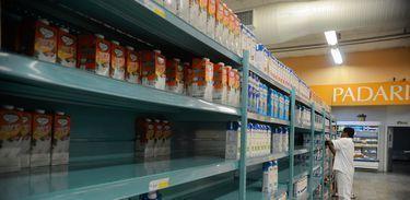 Protestos de caminhoneiros afetam distribuição de alimentos