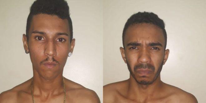 GPT de Uruaçu prende duas pessoas por tráfico de drogas em Campinorte