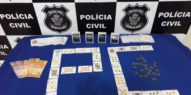 POLÍCIA CIVIL DE CAMPINORTE DESENCADEIA OPERAÇÃO JOGATA CONTRA JOGO DE AZAR EM ALTO HORIZONTE