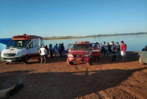Bombeiros Militares de Niquelândia encontram corpo de vítima de afogamento