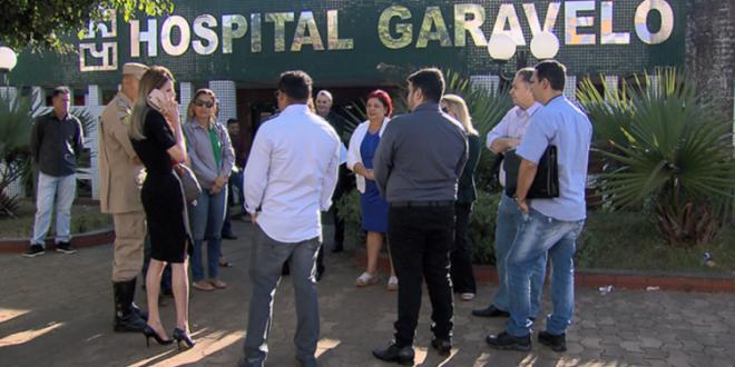 Hospital Garavelo é interditado pela Vigilância Sanitária de Aparecida de Goiânia