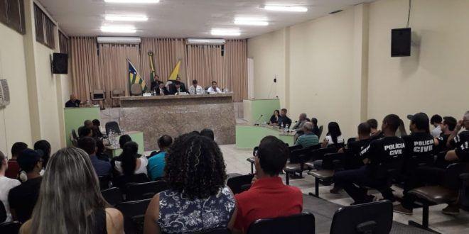 Polícia Civil recebe homenagem da Câmara Municipal de Mara Rosa