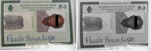 Exames papiloscópicos confirmam que idoso usava identidade falsa para tentar aplicar golpe em banco