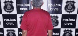 A Policia Civil prende suspeito por estupro e exploração sexual infantil no município de Barro Alto