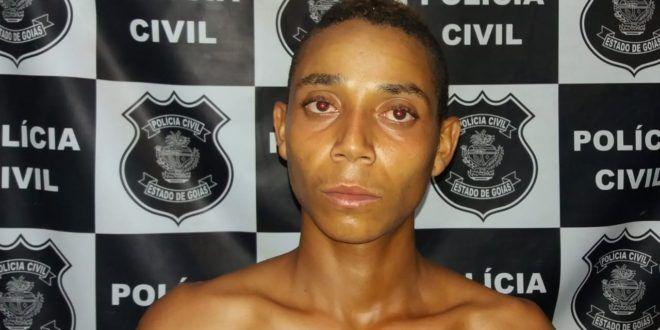 Polícia Civil de Uruaçu prende foragido de Justiça acusado de crime de furto