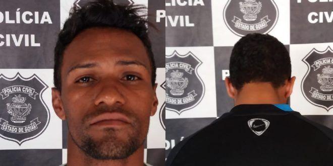 POLÍCIA CIVIL DE URUAÇU PRENDE FORAGIDO DA JUSTIÇA E REALIZA A APREENSÃO DE MENOR INFRATOR POR TRÁFICO DE DROGAS
